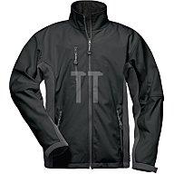 Feldtmann Softshell Jacke Kronos Gr.XL schwarz/grau 96%Polyester,4%Elasthan 19990