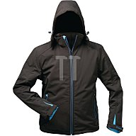 Feldtmann Softshell Jacke Uranos Gr.XXL schwarz/blau 96%Polyester,4%Elasthan 19950