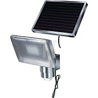 Brennenstuhl Solarleuchte mit Bewegungsmelder sep.Solarmodul Alu-Gehäuse 8x0,5 W LED s 1170840