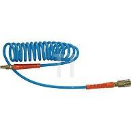 ewo Spiralschlauch Schlauch-L.3,5m blau G1/4Z PUR 473245