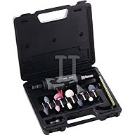 Pro Sales Stabschleifer-Set 22000min-1/Spannzange 3+6mm/10 Schleifstifte 200656