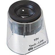 SCHWEIZER Standlupe Tech-Line Vergrößerung 10x Focus Vario Linsen-D.22,8mm 9510