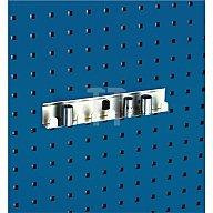Steckschlüsselhalter B.225mm 8 fach f.1/2Zoll-Einsätze f. Lochplatten Bott 14018004
