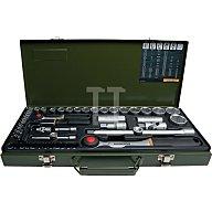 Steckschlüsselsatz CV. 55/32MM PR 4KT 55tlg. 1/4+1/2 PROXXON m.Driver-System 23040