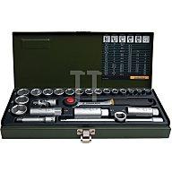 Steckschlüsselsatz CV. 6-24PR 4KT 24tlg. 3/8Zoll PROXXON m.Driver-System 23110