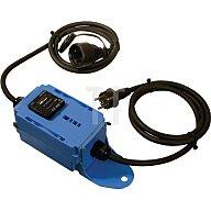 as - Schwabe Strom-/Betriebsstundenzähler Stecker/ Kupplung 230 V 2 x 1,5 m Kabel 3x2,5 IP44 60743