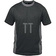 Feldtmann T-Shirt Madrid Gr.XXL schwarz/grau 100 % Baumwolle 21001