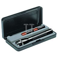 LiteXpress Taschenlampe Mini Mag-Lite AA L.14,5cm sw MAG-LITE f.2Mignon M2A01L
