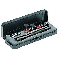 LiteXpress Taschenlampe Mini Mag-Lite AAA L.12,5cm sw MAG-LITE f.2Micro M3A012