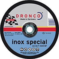 Dronco Trennscheibe AS46INOX 125x1,6x22,23mm gerade 1121250