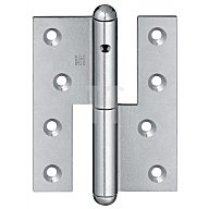 Simonswerk  Türband Q1 DIN li.Band-L.140mm Oberfläche verz.f.stumpf einschlagende Türen 5 1306242 01006