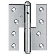 Simonswerk  Türband Q1 DIN re.Band-L.140mm Oberfläche verz.f.stumpf einschlagende Türen 5 1306241 01006