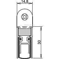 ATHMER Türdichtung Schall Ex DUO L-15 WS Nr.1-382 Auslösung 2-seitig L.958mm Alu. 1-382-0960