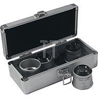 SCHWEIZER Uhrmacherlupen-Set Profi-Set Tech-Line 6x, 8x, 10x, 15x in Alu-Box 4tlg. 9790