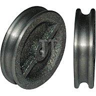 Betz Vogelrolle 470 D.60mm Nut 8mm Grauguss gedreht u.gebohrt schmale Nut Gleitlager 63161