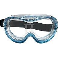 Vollsichtschutzbrille Fahrenheit klar m.Neoprene-Kopfband Acetatscheibe 3M FHEITSA