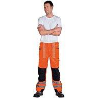 Warnschutz Bundhose Gr.46, EN20471 Kl.II orange/schwarz