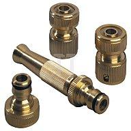Wasserschlaucharmaturen Set 3/4Zoll Hahnanschluss REHAU m.Schlauchstück 12471041100