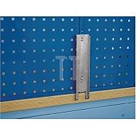 Bott Werkbankhalterung für Loch-/Schlitzplatten f. B.1500/2000mm Werkbänke 8030050