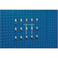 Werkzeughaltersortiment 15tlg. f.Lochplatten Bott 14031427