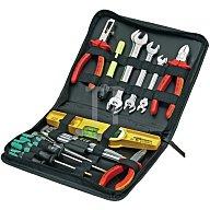 PARAT Werkzeugtasche 255x45x225mm aus Kunstleder umlaufender Reißverschluß25 Schlaufen 5650.030-061