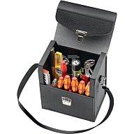 Werkzeugtasche B.235mm T.160mm H.275mm Industrieleder Volumen ca.10 Liter
