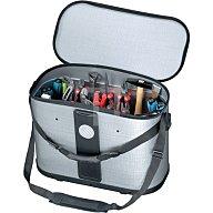 PARAT Werkzeugtasche B.460xT.230xH.310mm m. herausnehmb. Mittelw.bewegl. Silber 74000399