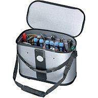 Werkzeugtasche B.460xT.230xH.310mm m.herausnehmb. Mittelw.1xCP-7+1xStechb.Halter