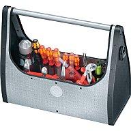 PARAT Werkzeugtasche B.495xT.210xH.395mm m. Tragestange silber aus CURV,ABS-Kunstst. 71000399