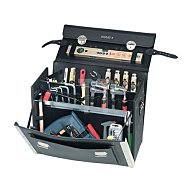 Werkzeugtasche Rindleder Doppelwand HDPE 460x210x340mm PARAT