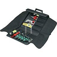 Werkzeugtasche schwarz Kunstleder 320x50x250mm PARAT