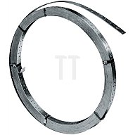 Windrispenband DIN1052 Breite 40mm Dicke 2mm feuerverz. Lochgrößen-D.5mm 50m