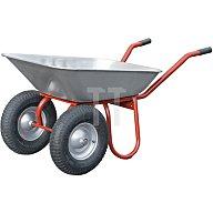 Capito Zweiradkarre DUO 85 Inhalt 85 l Blechstärke 1,0mm Luftrad 400/100 auf Stahlblec 12901
