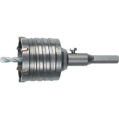 Bohrkrone HM-bestückt D.80mm m. SDS-plus Aufnahmeschaft