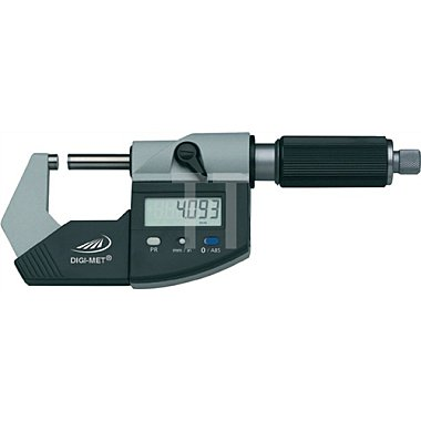 Digitalbügelmessschraube DIN863/1 DIGI-MET 75-100mm m.Datenausgang