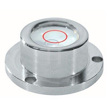 Dosenlibelle D.20mm a.Glas Metallgehäuse SOLA 3fach-Flansch