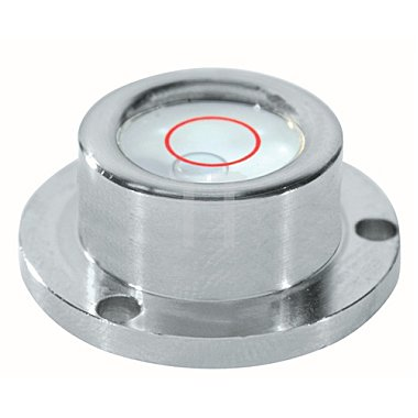Dosenlibelle D.50mm a.Glas Metallgehäuse SOLA 3fach-Flansch