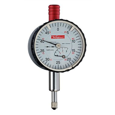 Kleinmessuhr KM4/5S 5mm Ablesung 0,01mm m.Stoßschutz m.Werkskalibrierung