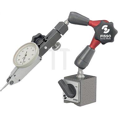 Magnetmessstativ H.220mm Haftkraft 300N Aktionsradius 130mm