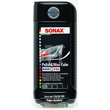 Polish & Wax Color NanoPro schwarz Politur Wachs 500 ml