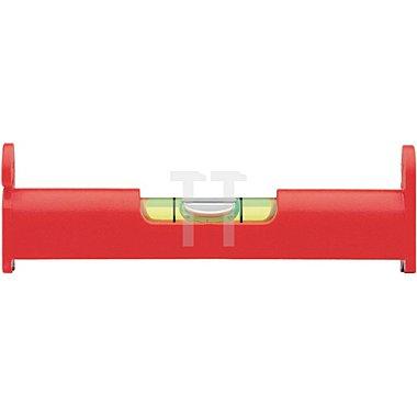 Schnurwasserwaage UZ8 L.8cm a. Kunststoff rot