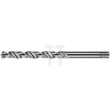 Spiralbohrer, zyl., kurz Ø 5,1mm Typ W HSS rechts für Aluminium