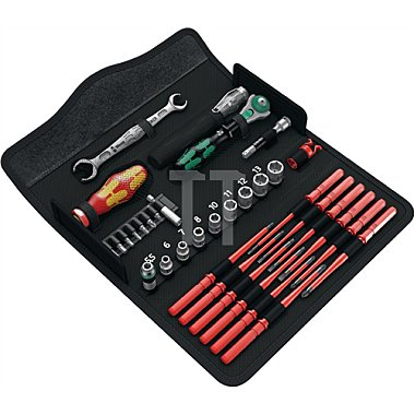 Werkzeugset K K W1 Wartung 35 tlg. in Klapptasche