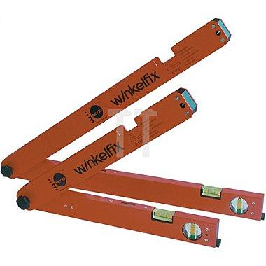 Winkelmessgerät Shorty L.305mm m.Wasserwaage NEDO Messb.0-180Grad