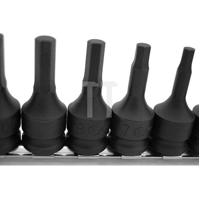"""1/2"""" Schlagschrauber Inbuss Bits 5 - 19mm metrisch 11tlg."""
