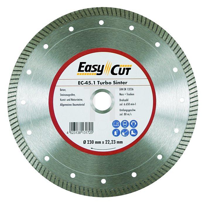 125mm EC-45.1 22,23mm 1,2 x 10mm Ring