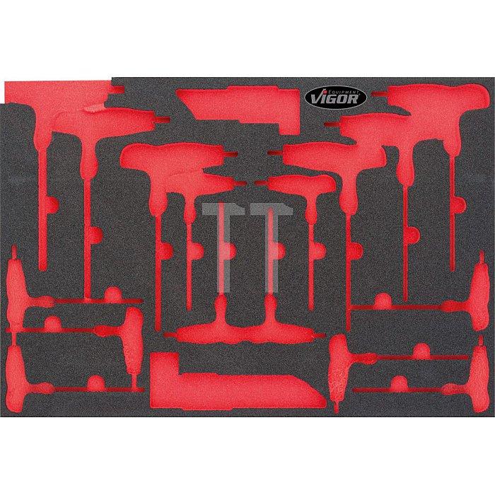 2K-Weichschaum-Einlage für V2006 (1/1 VIGOR 1000), leer