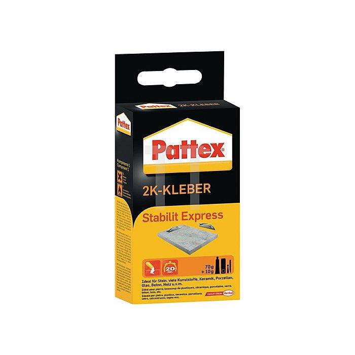 2Komponentenkleber 80g Stabilit-Expr. PSE6 Pattex HENKEL b.250kp/cm3