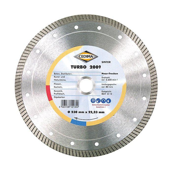 300mm Turbo 2009 25,4mm 2,0 x 10mm mit Ring