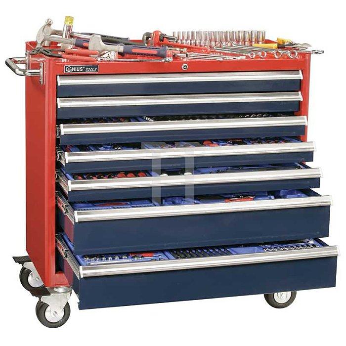 433-tlg. Werkzeugwagen metrisch